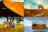 LG OLED TV, 내셔널 지오그래픽의 대자연 담았다
