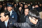 [포토] 서울역 도착한 현송월 단장