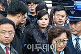 [포토] 현송월 삼지연관현악단장 '방남'