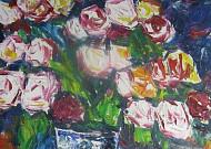 아흔에도 장미를… 향기로운 꽃의 궤적