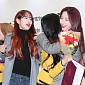 [BZ포토] 우주소녀 설아-보나, '다영아 졸업 축하해'