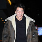 [BZ포토] 김래원, '따뜻하게 입고 종방연 왔어요'