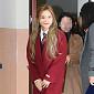 [BZ포토] 예리, '레드벨벳 코트 입고 졸업식 왔어요'