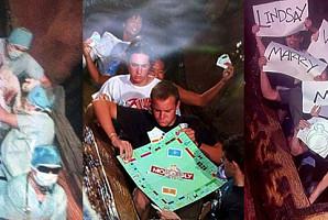 놀이기구 타다가 찍힌 천조국의 '유쾌한' 사진 모음