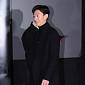 [BZ포토] 강기영, '언론시사회 첫 발걸음'