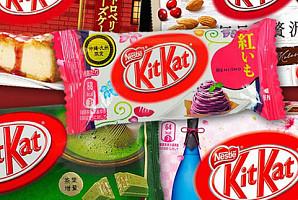 오직 일본에서만 맛볼 수 있는 이색 '킷캣' BEST 8
