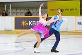 [평창 동계올림픽] 민유라-알렉산더 겜린, 아이스댄스 프리 1그룹 4번째 연기…