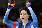 [평창 동계올림픽] 차민규, 스피드스케이팅 남자 500m서 깜짝 은메달…
