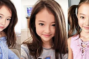 걸그룹 뺨치는 미모를 자랑하는 키즈 혼혈 모델 '엘라'