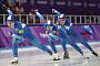 [평창 동계올림픽] 남자 팀추월 대표팀, 은메달 획득
