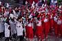 [평창 동계올림픽] 태극기·인공기·한반도기 흔들며 남북 공동 입장
