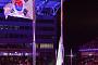 [포토] 평창동계올림픽 폐막 'IOC기 하기'