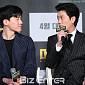 [BZ포토] 박희순, '나도 일어서서 인사해야 돼?'