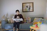 LGU+, 'U+우리집AI' 시각장애 엄마 육아기…유튜브 광고 1천만 뷰 돌파