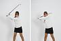 [김수현의 fun한 골프레슨]드라이버 톱스윙 때 왼팔은 턱 밑에 유지해야