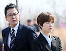 '스위치 촬영현장 공개' 장근석-한예리, 검사의 날카로운 눈빛