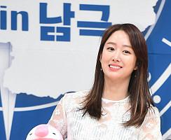 전혜빈, 남극 여전사의 핑크빛 미소