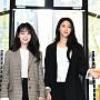 AOA 지민-설현, '소리없는 미모 대결 중~'