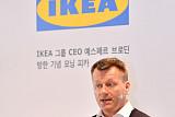 """""""이케아 8월 내 온라인 매장 연다""""...예스페르 브로딘 CEO 첫 방한"""