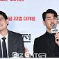 [BZ포토] 박해준-차승원, '다음 영화도 우리 함께...