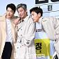 [BZ포토] 권상우-성동일-이광수, '트렌치 재킷 화...
