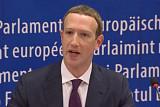 유럽의회 증언 나선 저커버그…개인정보 유출 거듭 사과했지만