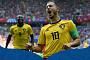 [2018 러시아 월드컵] '아자르·루카쿠 멀티골' 벨기에, 튀니지에 5-2 완승…2연승으로 16강 진출 눈앞