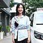 [BZ포토] 오연아, 강남엄마의 독특한 종방연 패션
