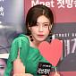 [BZ포토] 장도연, '하트 품고 매력 발산'