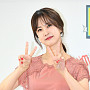 박소현, 2주년 기념하는 '사랑스러운 브이'