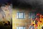 '구미 전자공고 화재' 기숙사 일부 태우고 진화