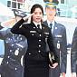 [BZ포토] 걸스데이 유라, '경찰 제복이 잘 어울리죠'
