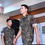 지창욱, 늠름한 군인