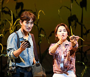 강타-김선영, 로버트와 프란체스카의 첫만남