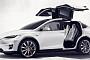 테슬라 전기 SUV 모델X 국내 첫 선…1회 충전으로 386km