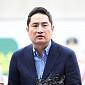 [BZ포토] '김부선 변호인' 강용석, '제대로 조사가...