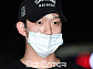 [BZ포토] '폭행 논란' 구하라 남친 A씨, 반창고로 가린 얼굴 상처