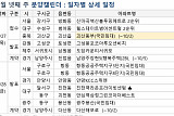 """[금주의 분양캘린더] 9월 넷째주, '괴산동부(국민임대) 114가구 청약…""""추석 휴식기"""""""