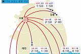 부산 5시간20분·광주 4시간40분···연휴 첫날 고속도로 '몸살'