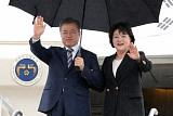문재인 대통령, 뉴욕 도착…3박 5일 유엔 외교일정 돌입