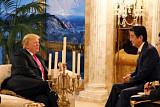 트럼프·아베, 뉴욕서 만찬 회동…한반도 비핵화 긴밀히 협력