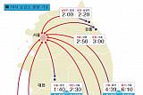 [고속도로교통상황]'귀경 전쟁' 부산→서울 6시간 50분…오후 4∼5시 정체 절정
