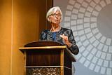 """라가르드 IMF 총재 """"돈이 바뀌고 있다...중앙은행들도 가상화폐 발행 고려해야"""""""
