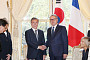 """문 대통령 """"프랑스, 북한 비핵화 조치 빨리할 수 있도록 동력돼 달라"""""""