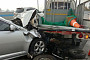 무면허·음주 운전자, 작업 차량 덮쳐 50대 근로자 사망