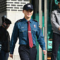 [BZ포토] JYJ 김준수, 전역으로 향하는 가벼운 발걸음