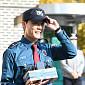 [BZ포토] '만기 전역' 김준수, '수많은 카메라가 ...