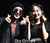 하하, 아내 별 응원차 깜짝 방문 '내친김에 포토타임까지'