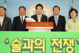 """평화당, 음주문화 7대 법안 입법화 추진…""""술 권하면 처벌"""""""