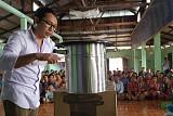 GS칼텍스, 미얀마에 쿡스토브 지원…해외 온실가스 저감활동
